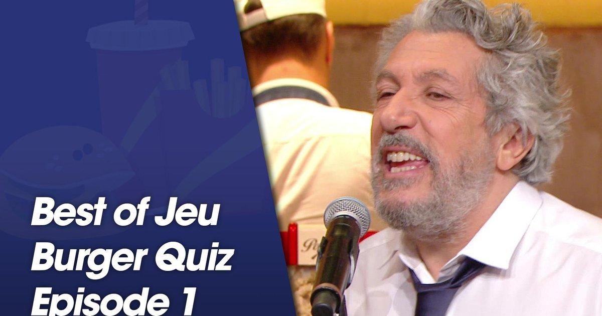 Replay-Best Of jeu Burger Quiz - Episode 1