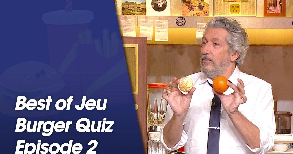 Replay-Best Of jeu Burger Quiz - Episode 2