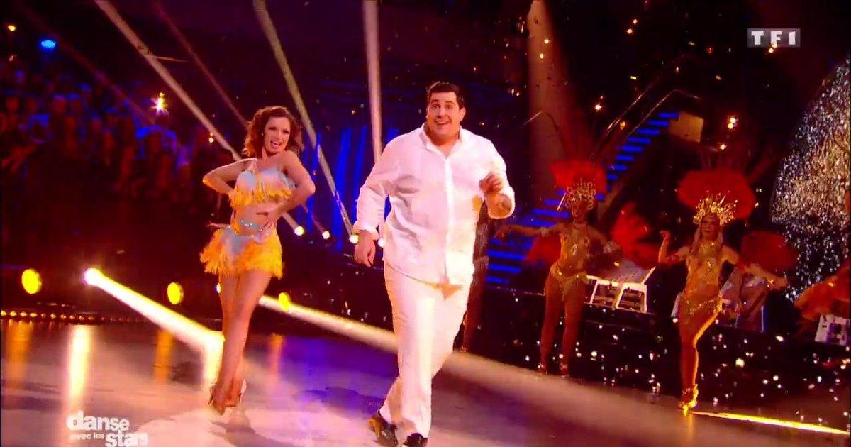 Danse avec les stars  : Artus et Marie Denigot , une samba pour leur 2è danse sur « Mas Que Nada» (Sergio Mendes)  - TF1