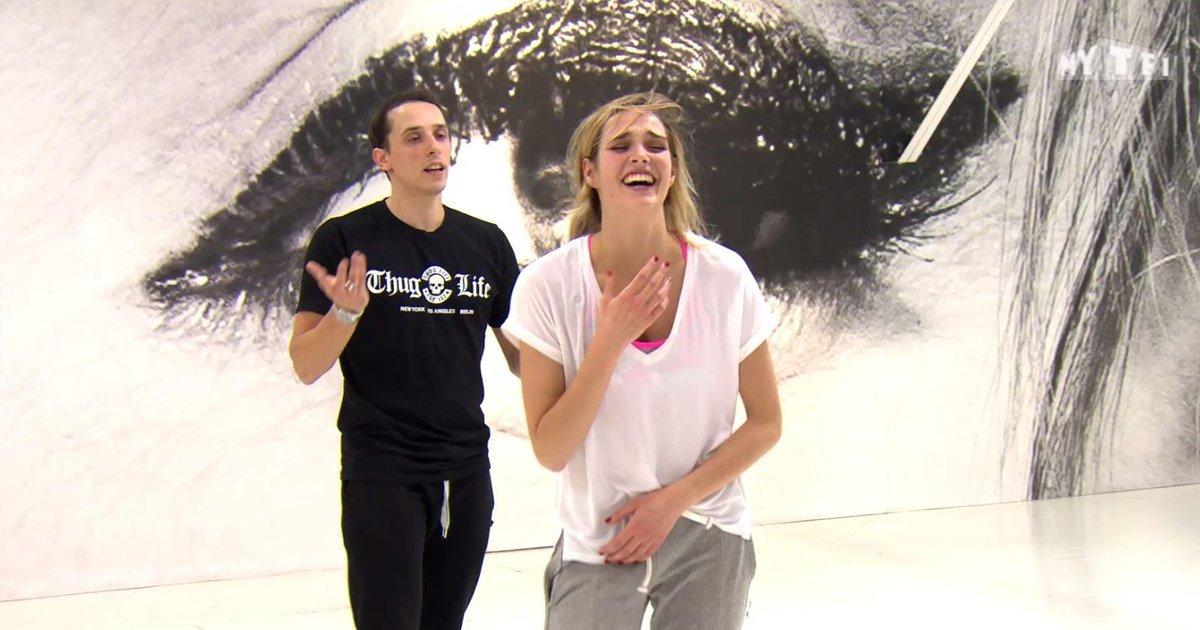 Danse avec les stars  : Camille Lou « Il faut que je sourisse »  - TF1