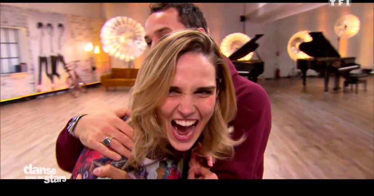 Danse avec les stars  : Camille Lou et Grégoire Lyonnet en répétitions du jive - première danse  - TF1