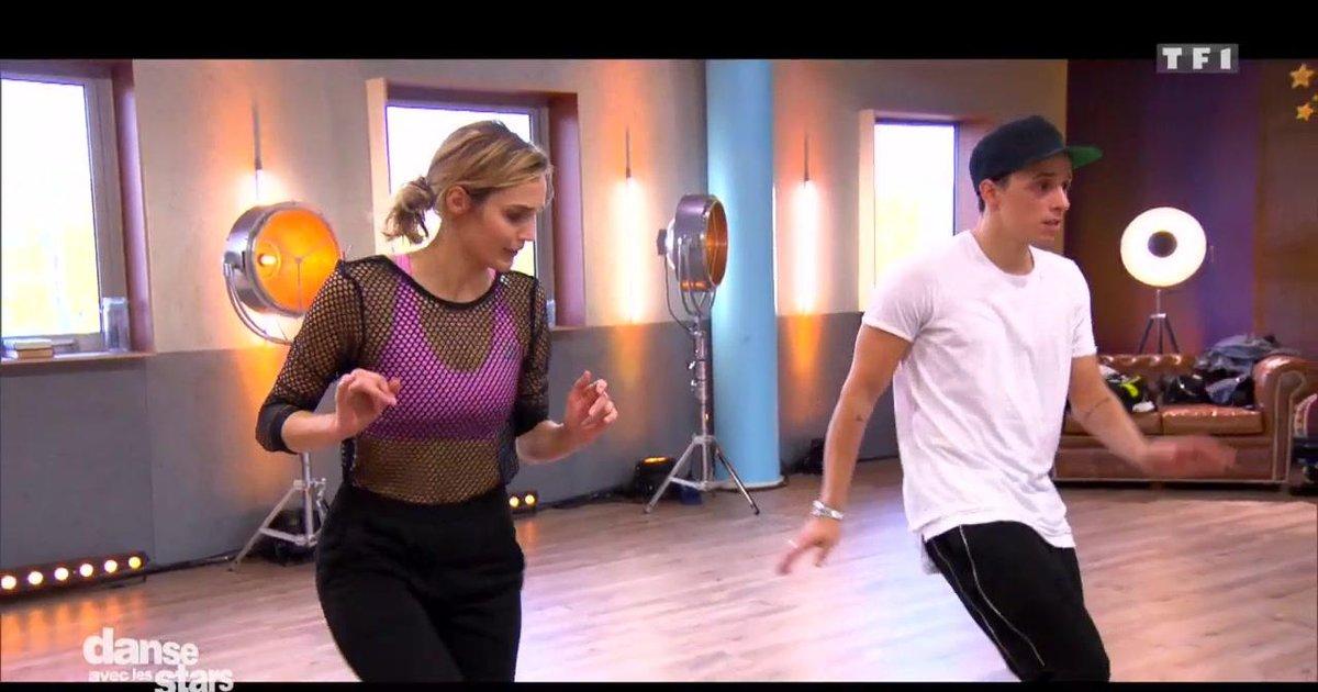 Danse avec les stars  : Camille Lou et Grégoire Lyonnet : leur semaine de répétitions.  - TF1