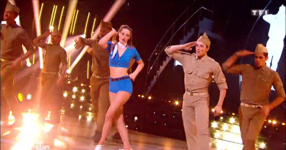 Danse avec les stars  : Camille Lou et Grégoire Lyonnet, un quickstep pour leur 2è danse sur  « Candyman»  - TF1