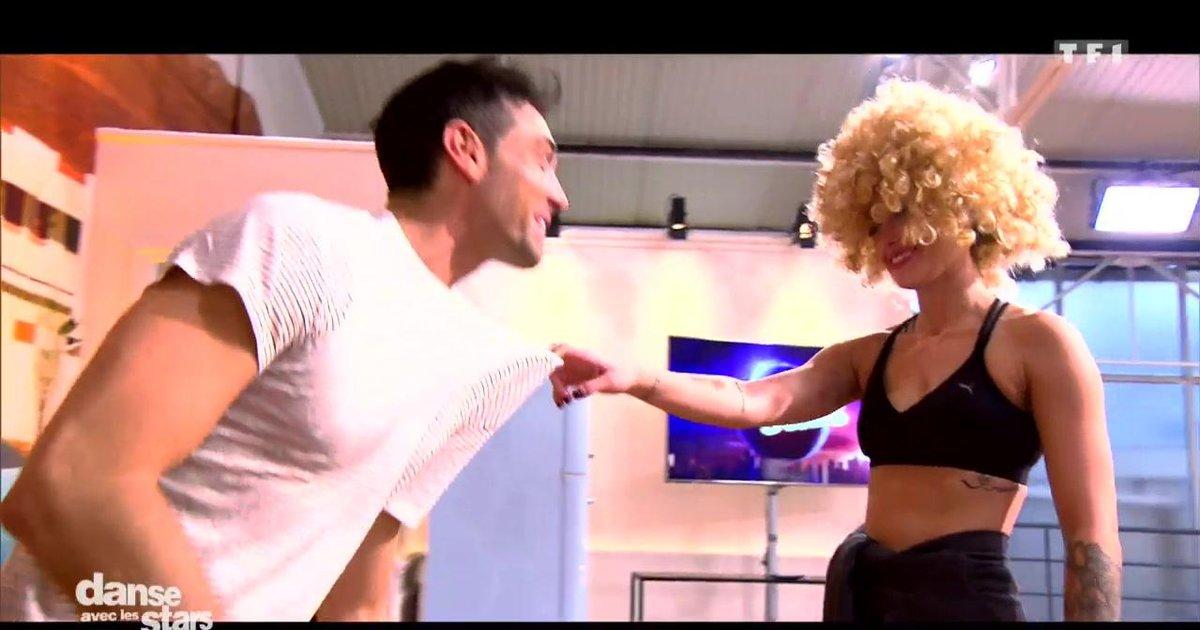 Danse avec les stars  : Caroline Receveur et Maxime Dereymez : leur 6è semaine de répétitions  - TF1