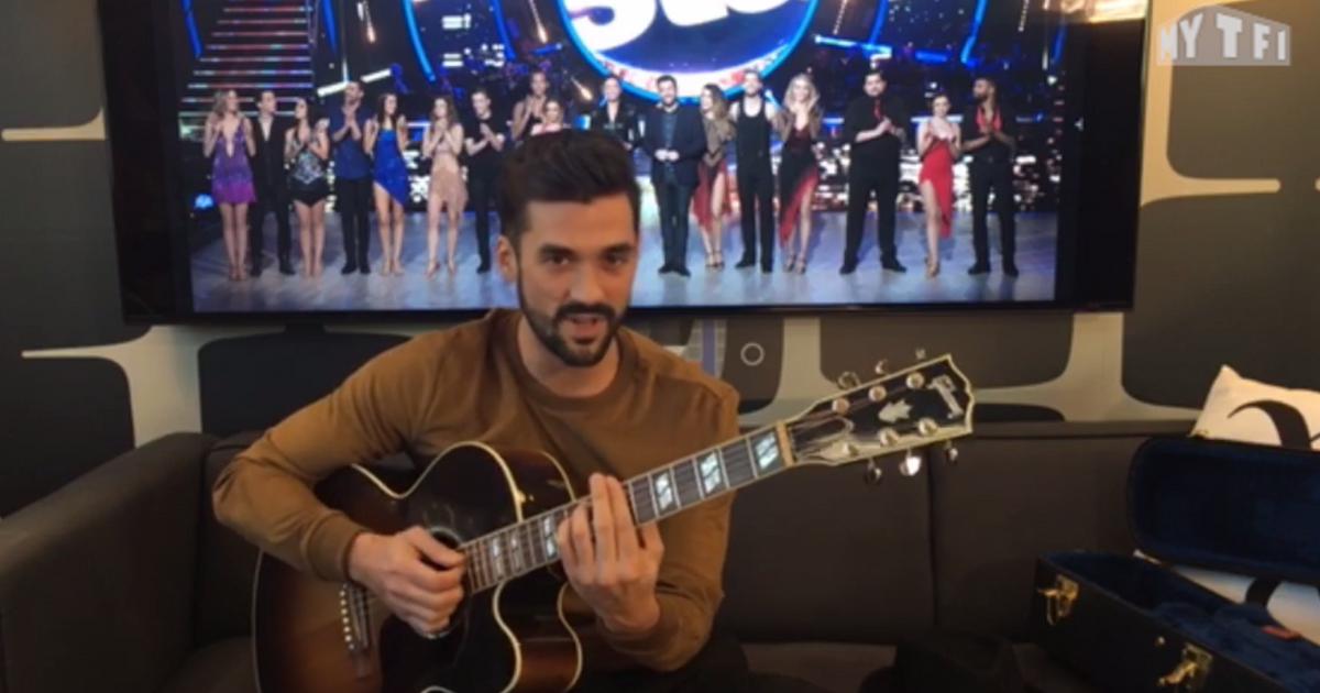 Danse avec les stars  : Florent Mothe - Qu'est-ce qu'un homme ? (live exclu web)  - TF1