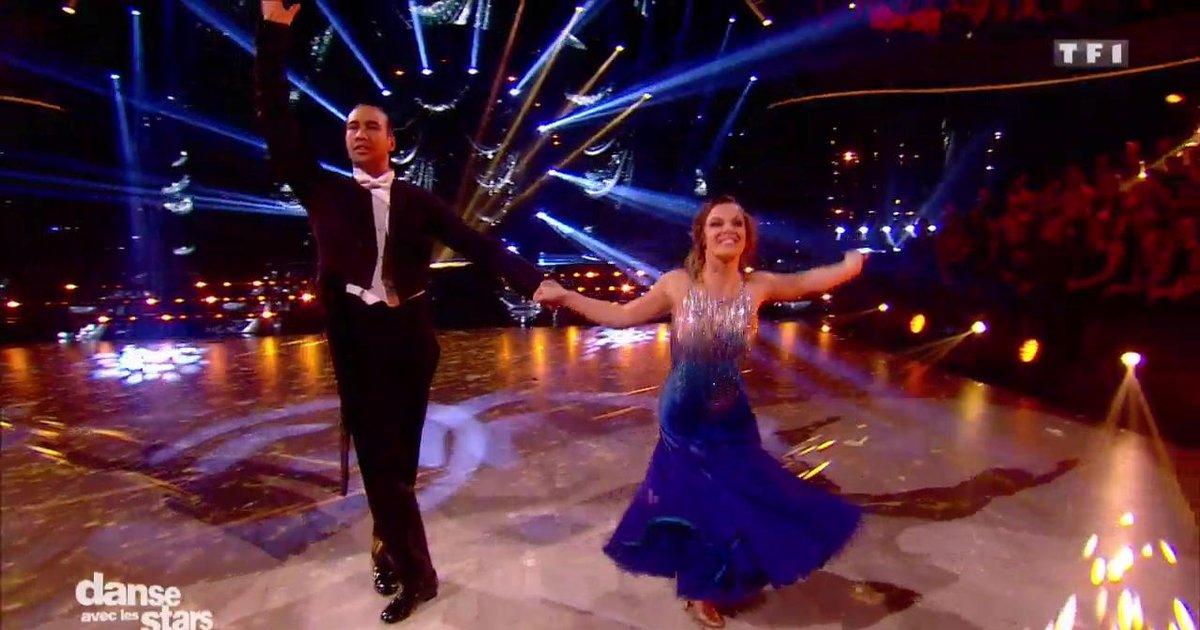 Danse avec les stars  : Foxtrot pour la 2è danse de Laurent Maistret et Denitsa sur « Stranger in the Night» (Frank Sinatra)  - TF1