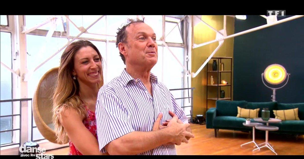 Danse avec les stars  : Julien Lepers et Silvia Notargiacomo : focus sur leur semaine de répétitions  - TF1