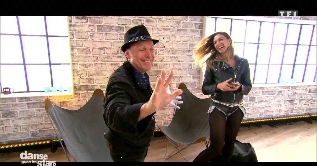 Danse avec les stars  : Julien Lepers et Silvia Notargiacomo: leur  semaine de répétitions  - TF1
