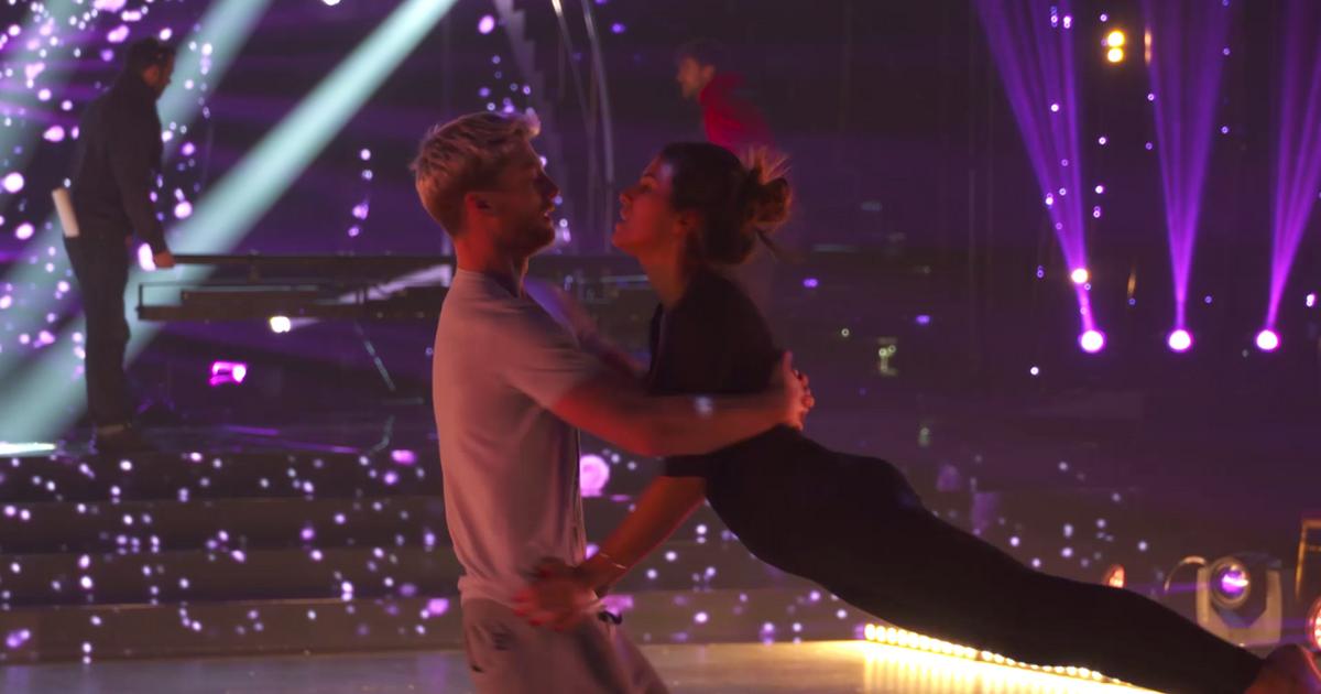 Danse avec les stars  : Répétitions : Karine Ferri s'envole  - TF1