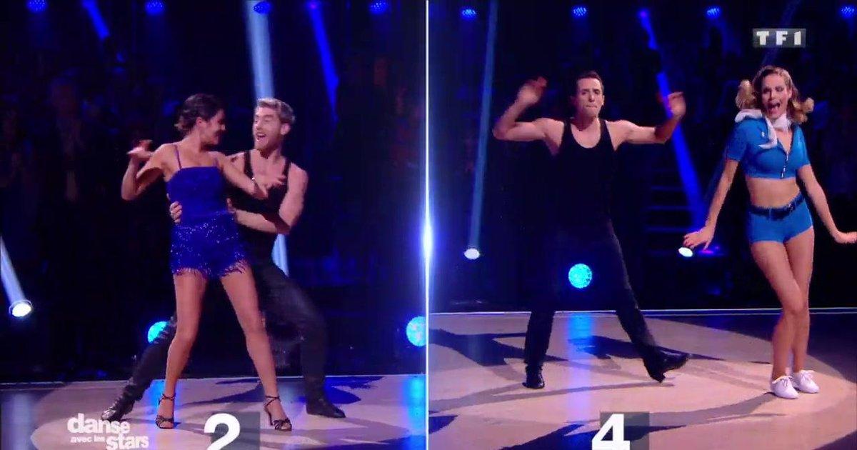 Danse avec les stars  : L'épreuve du face à face : Camille Lou vs Karine Ferri, défi Jive sur « Great Balls Of Fire » (Jerry Lee Lewis)  - TF1