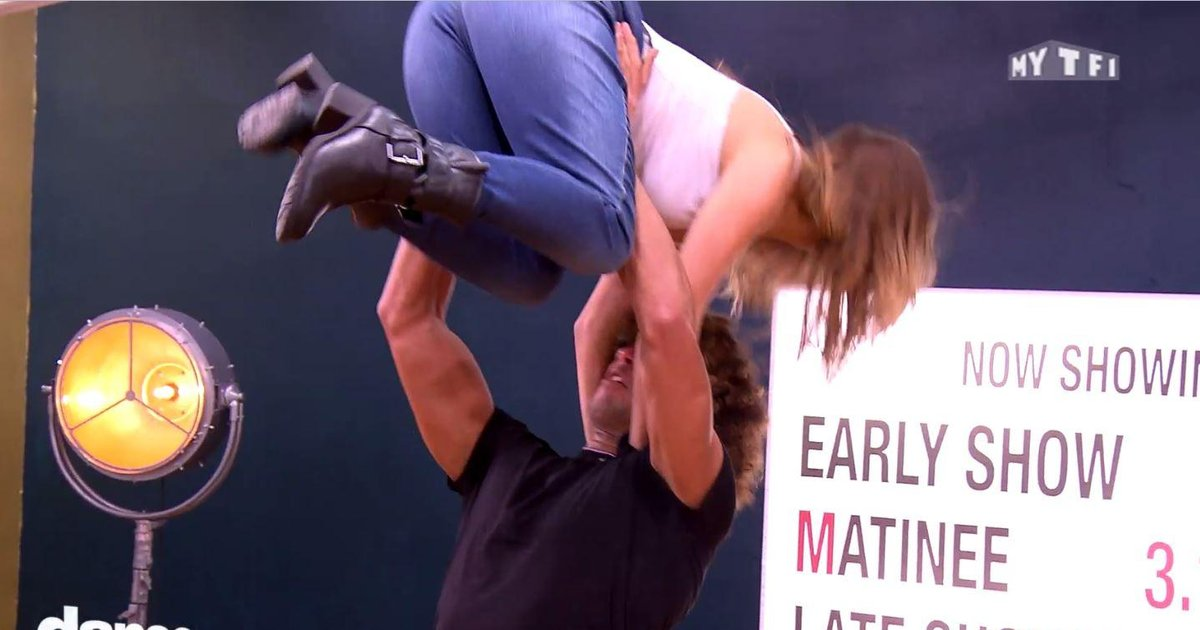 Danse avec les stars  : Laurent Maistret a du boulot pour incarner Patrick Swayze  - TF1