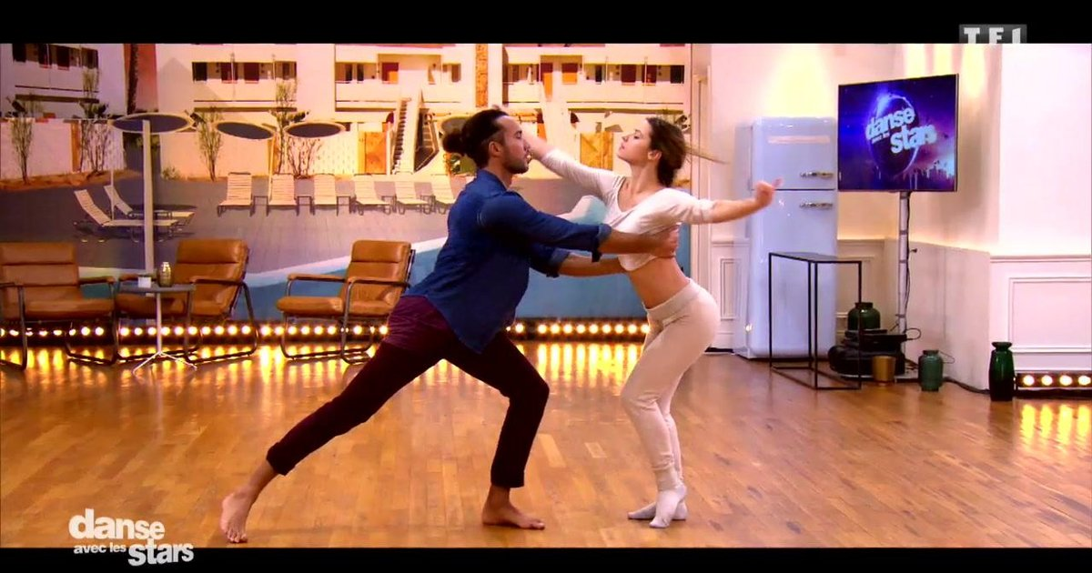 Danse avec les stars  : Laurent Maistret et Denitsa Ikonomova : leur 6è semaine de répétitions  - TF1