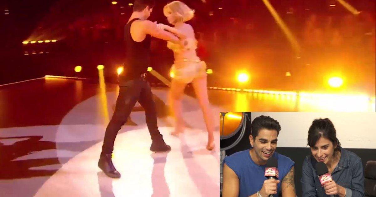 Danse avec les stars  : Christophe Licata revient sur sa prestation avec Sylvie Tellier  - TF1
