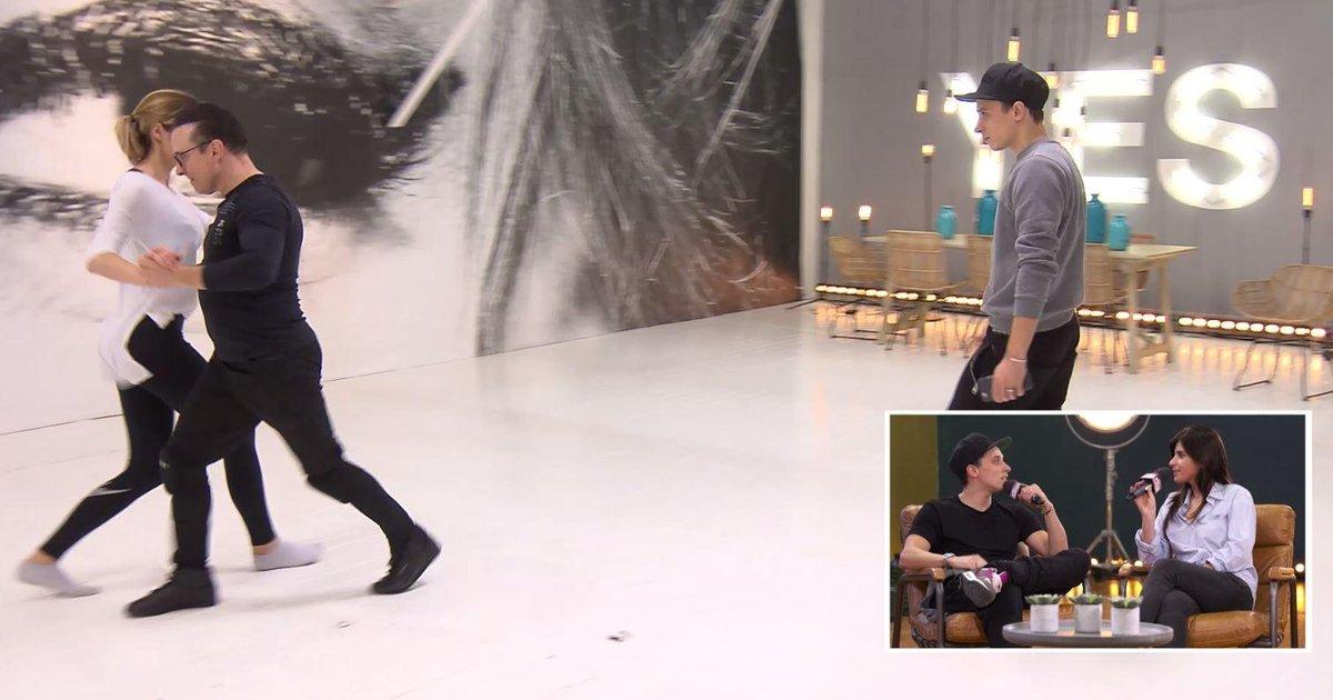Danse avec les stars  : Grégoire Lyonnet « Jean-Marc est hyper investi dans la choré »  - TF1