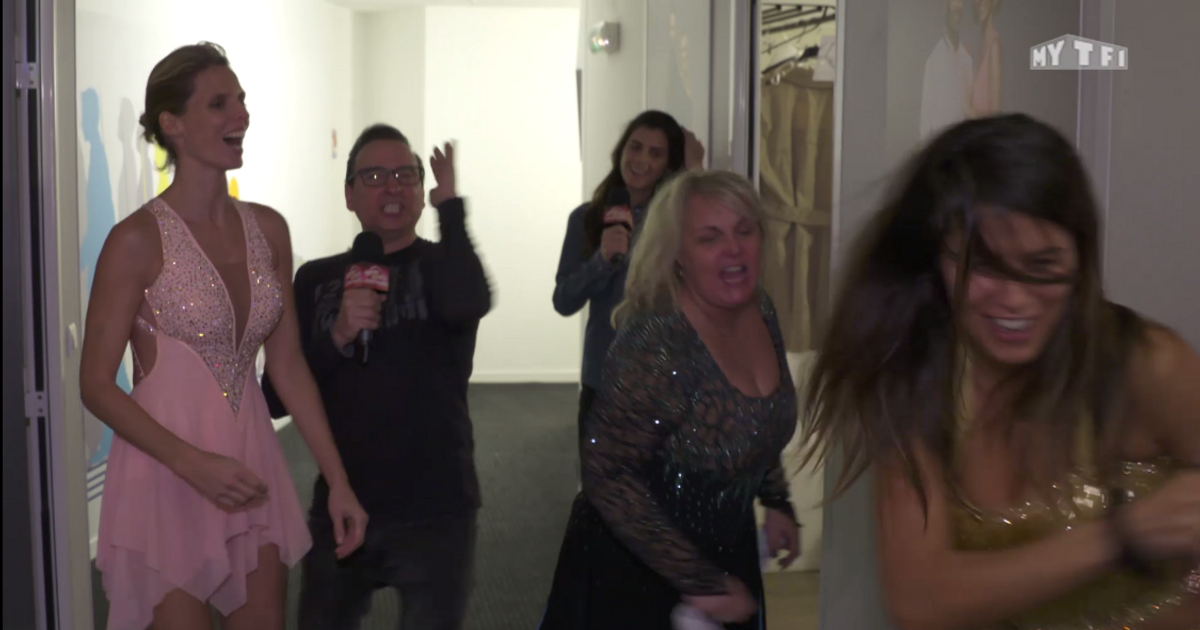 Danse avec les stars  : La quotidienne du 22/10 : Les filles déchaînées en coulisses  - TF1