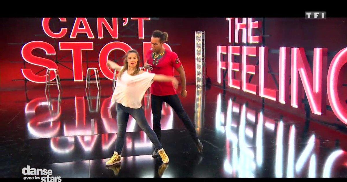 Danse avec les stars  : Répétitions du chacha pour la 2è chorégraphie de Laurent Maistret et Denitsa Ikonomova  - TF1