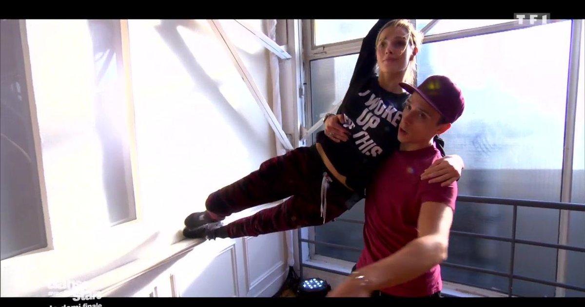 Danse avec les stars  : Répétitions d'un quickstep pour la 2è danse de Camille Lou et Grégoire Lyonnet  - TF1