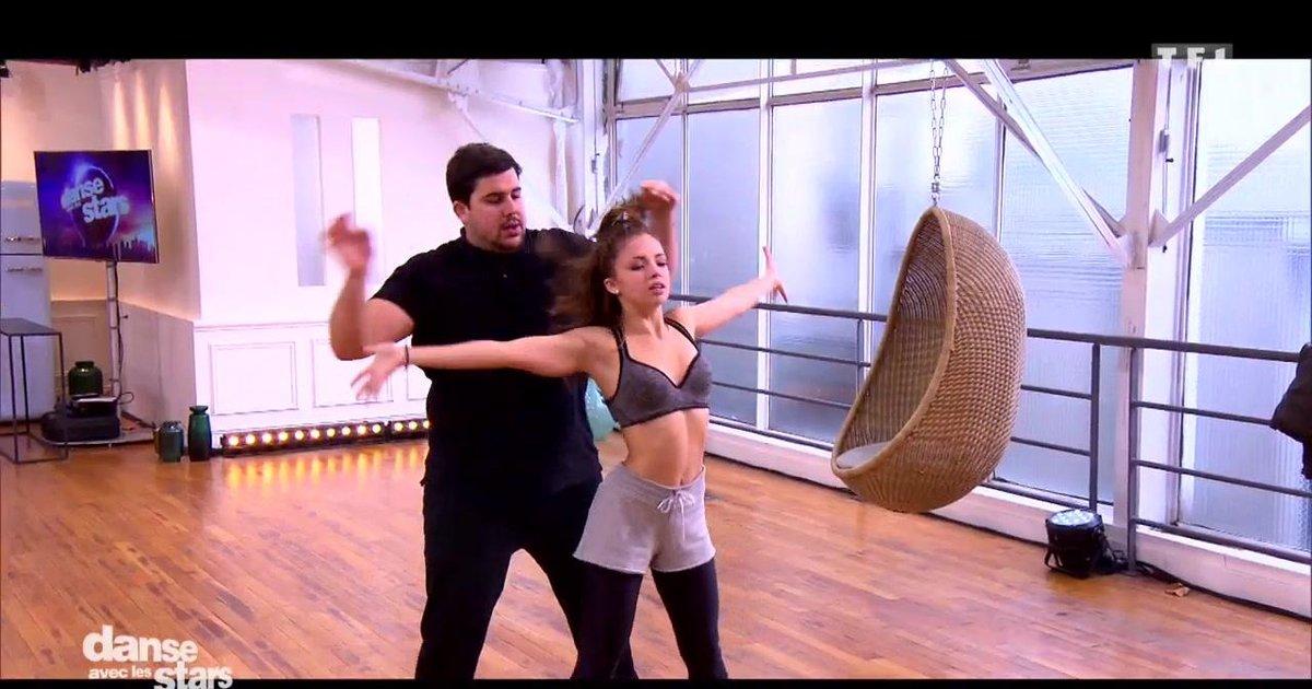 Danse avec les stars  : Répétitions de la danse contemporaine pour la 2è danse d'Artus et Marie Denigot  - TF1