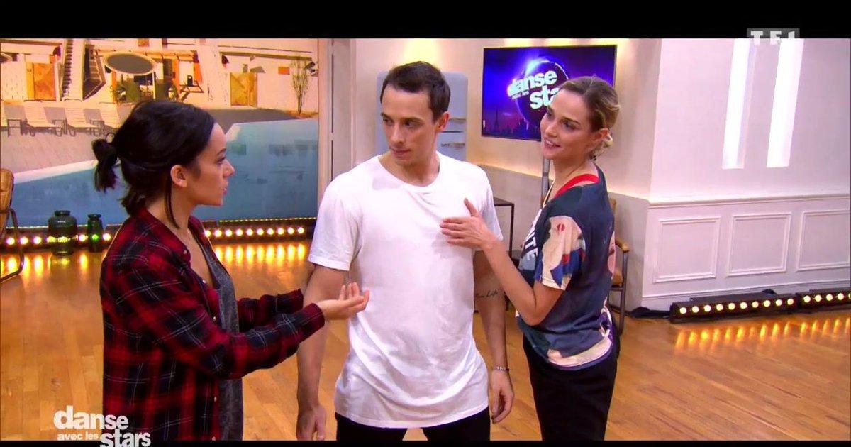 Danse avec les stars  : Répétitions en trio pour Camille Lou, Grégoire Lyonnet et Alizée  - TF1