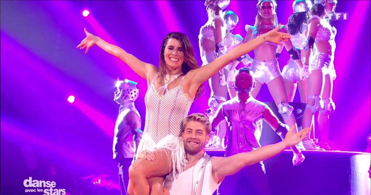 Danse avec les stars  : Un chacha pour la 2è danse de Karine Ferri et Yann-Alrick sur « Laissez-moi danser» (Dalida)  - TF1