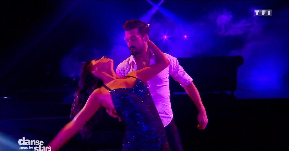 Danse avec les stars  : Un foxtrot pour la 2è danse de Florent Mothe et Candice Pascal sur Fifty Shades Of Grey  - TF1