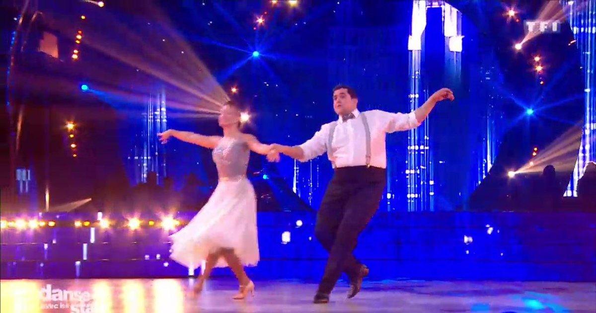 Danse avec les stars  : Un foxtrot pour Artus et Marie Denigot sur « Toute la pluie tombe sur moi » (Sacha Distel)  - TF1