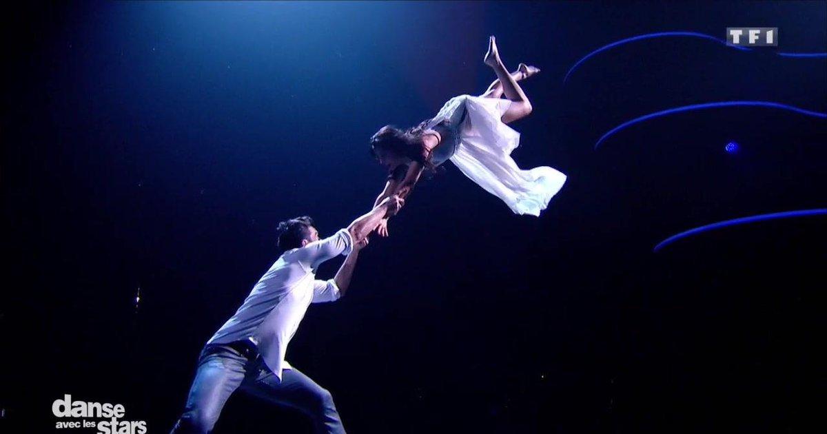 Danse avec les stars  : Une danse contemporaine pour Florent Mothe et Candice Pascal sur « Lili » (Aaron)  - TF1