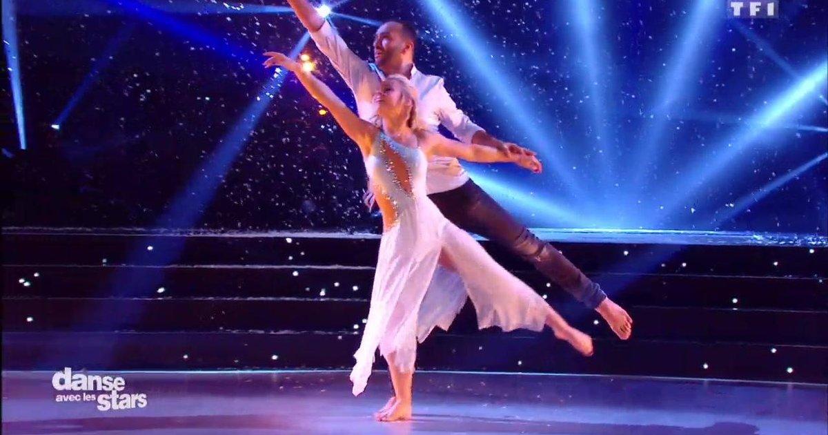Danse avec les stars  : Une danse contemporaine pour Kamel le Magicien et Emmanuelle sur « Là-Bas » (JJ Goldman)  - TF1