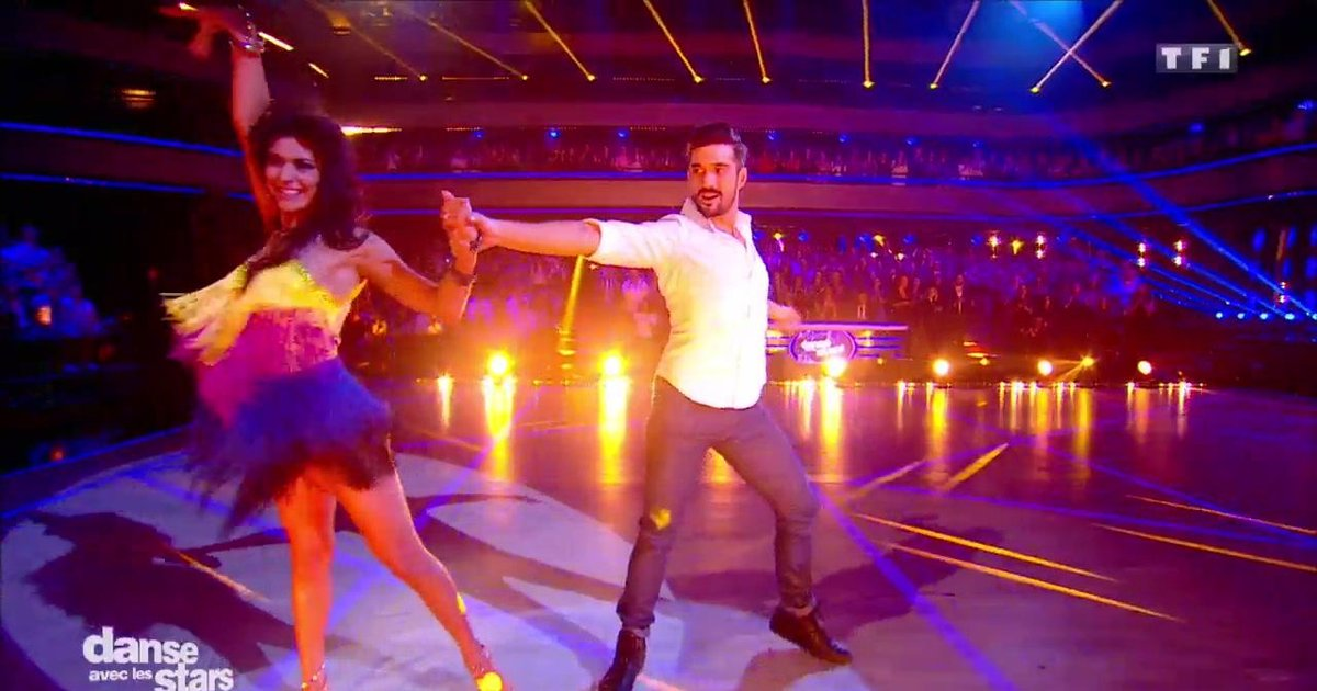 Danse avec les stars  : Une samba pour Florent Mothe et Candice Pascal sur « Duele El Corazon » (Enrique Iglesias)  - TF1