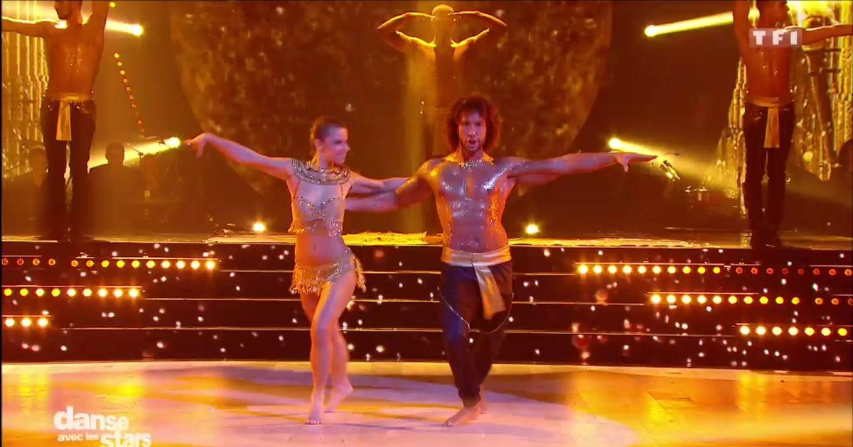 Danse avec les stars  : Une samba pour Laurent Maistret et Denitsa Ikonomova  sur « Lean On » (Major Lazer)  - TF1