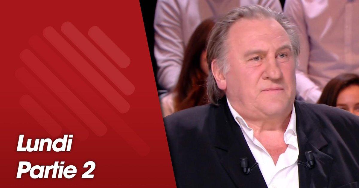 Replay-Quotidien, deuxième partie du 11 mars 2019 avec Gérard Depardieu