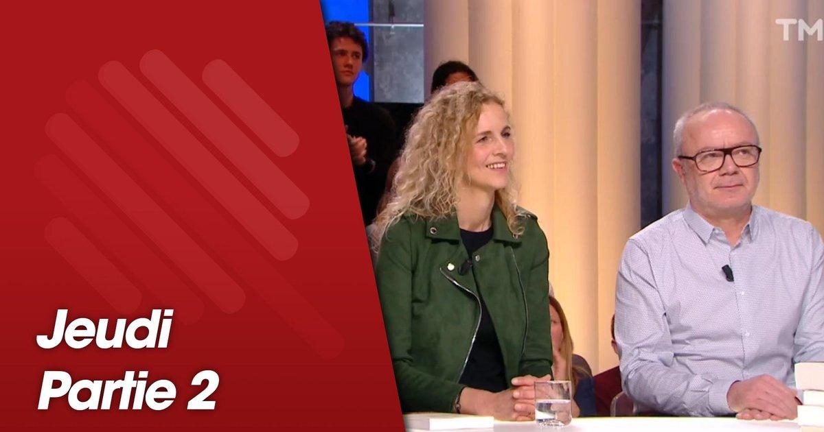 Replay-Quotidien, deuxième partie du 14 mars 2019 avec Delphine de Vigan et Olivier Baroux