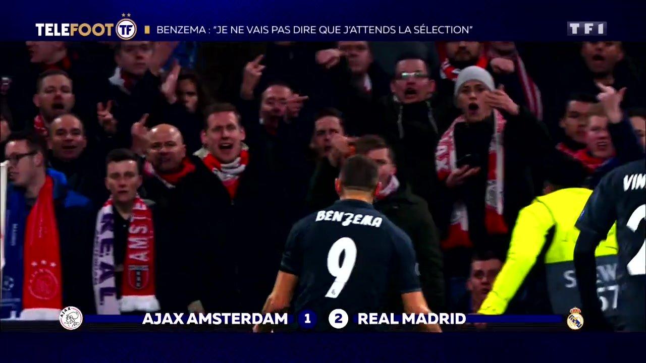 """[EXCLU Téléfoot 17/02] - Benzema sur le départ de Cristiano Ronaldo : """"J'ai plus de responsabilités au Real Madrid"""""""