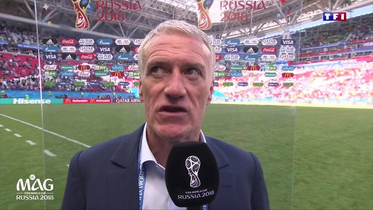 """France-Australie (2-1) : """"On a fait le job mais on est capable de beaucoup mieux faire"""" pour Deschamps"""
