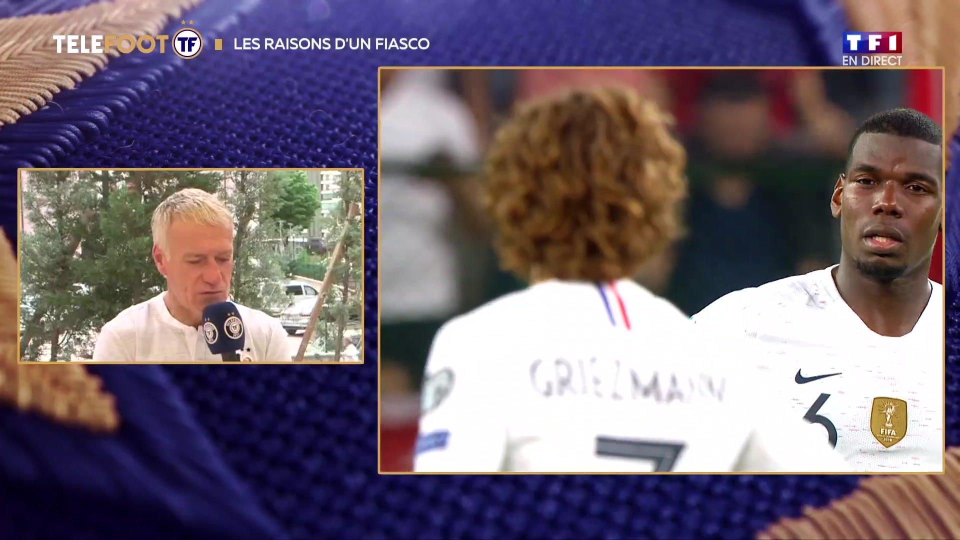 """[EXCLU Téléfoot 09/06] - Deschamps sur Turquie-France : """"Un non match"""""""
