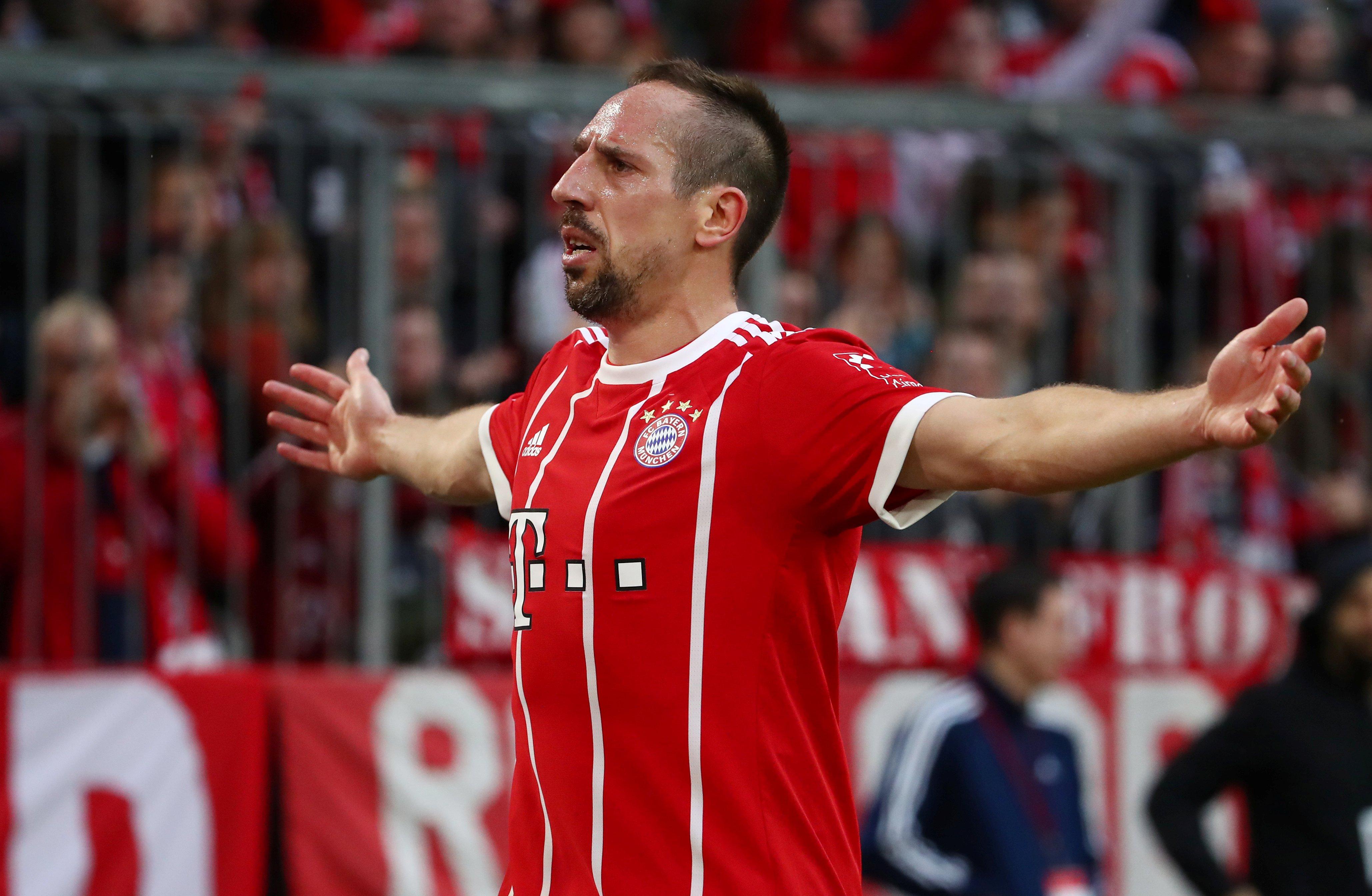 """[EXCLU Téléfoot 19/05] - Ribéry sur le Ballon d'Or 2013 : """"Une grande cicatrice"""""""