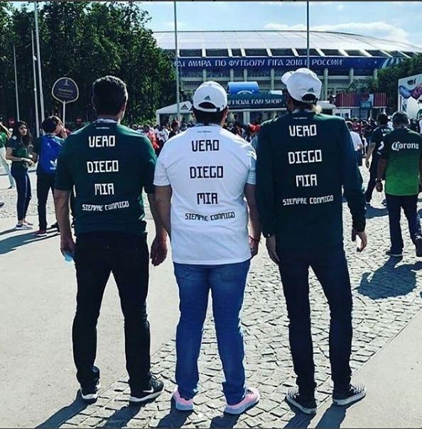 Un fan mexicain assiste au Mondial après la mort de sa famille