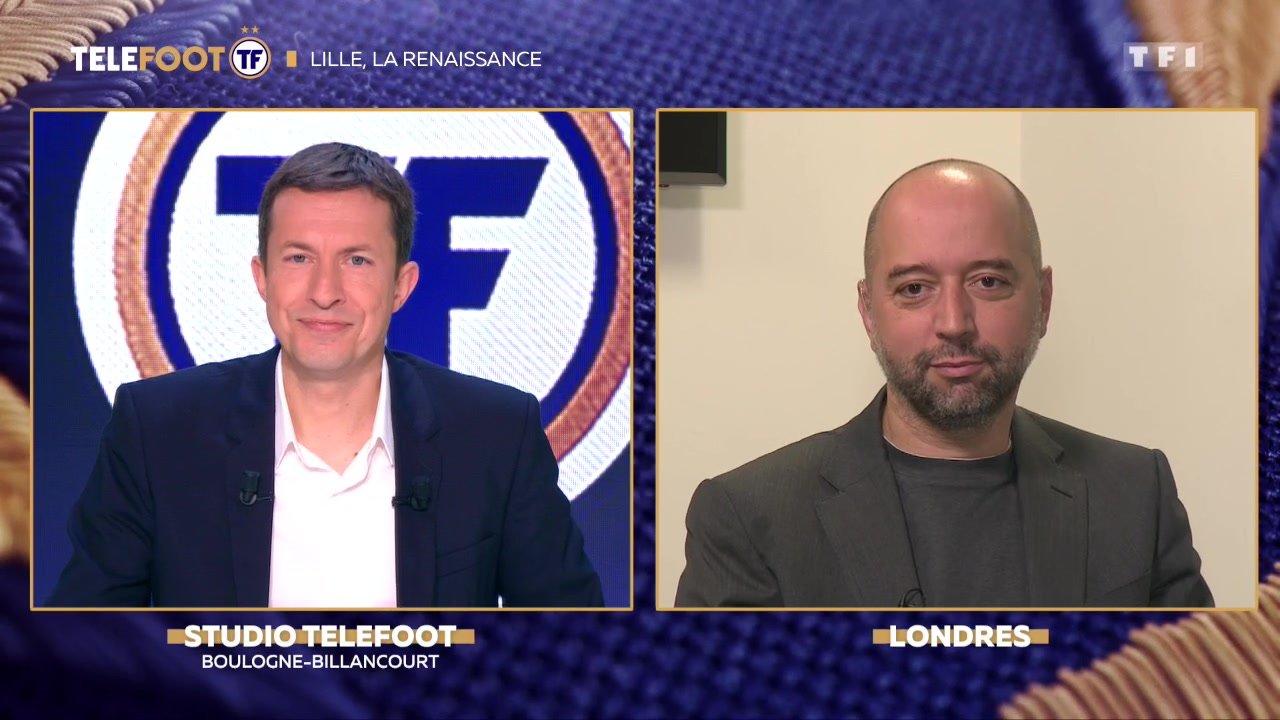 """[EXCLU Téléfoot - 23/09] - LOSC / Gérard Lopez : """"Nettement plus heureux que l'année passée"""""""