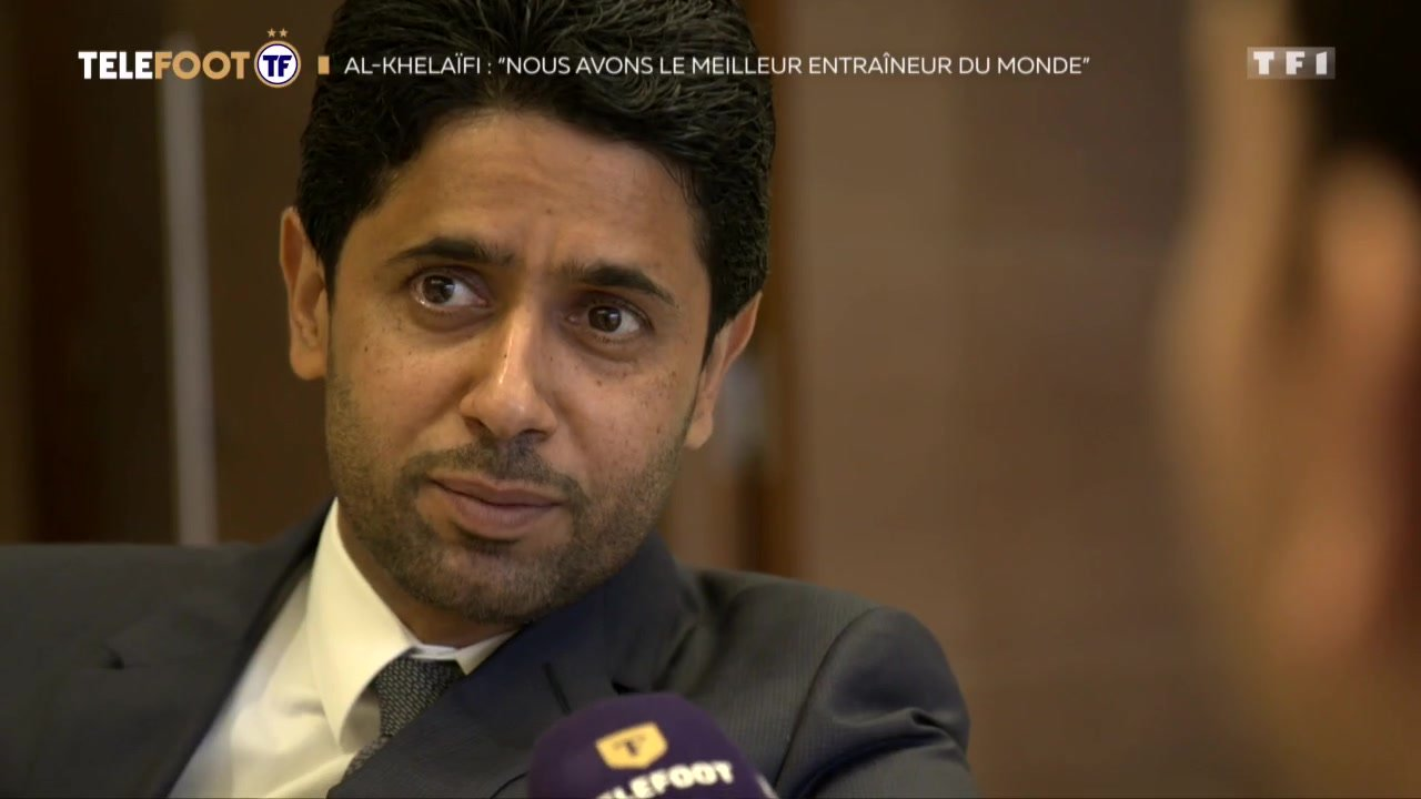 """[EXCLU Téléfoot - 16/09] - PSG / Al-Khelaïfi fait l'éloge de Tuchel : """"Il est le meilleur entraîneur au monde"""""""