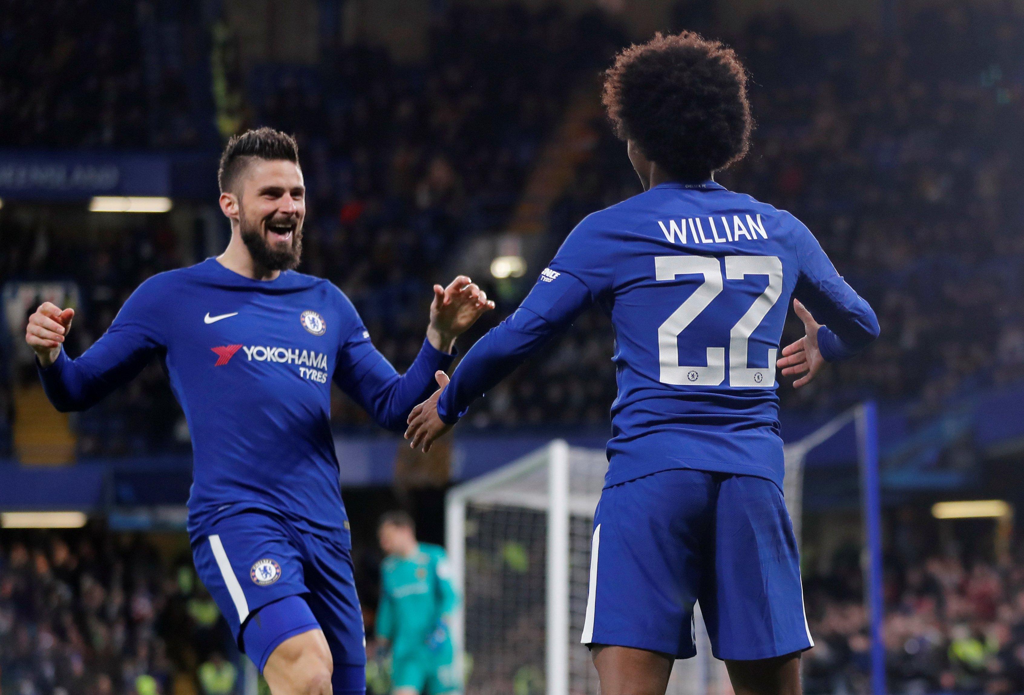 Premier League : Giroud, un buteur devenu passeur à Chelsea