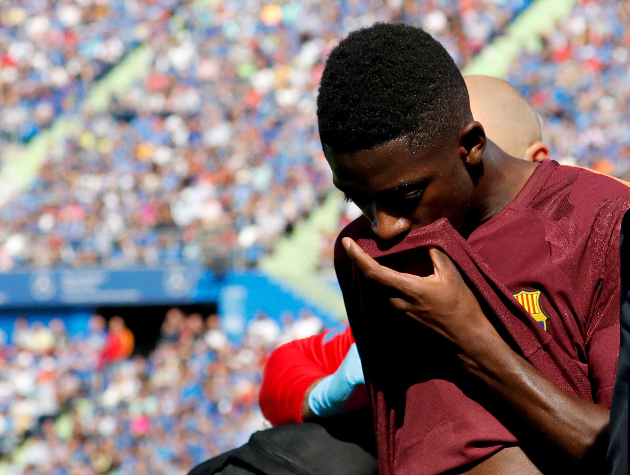 Liga - FC Barcelone : Opéré avec succès, Ousmane Dembélé sera absent quinze semaines (officiel)
