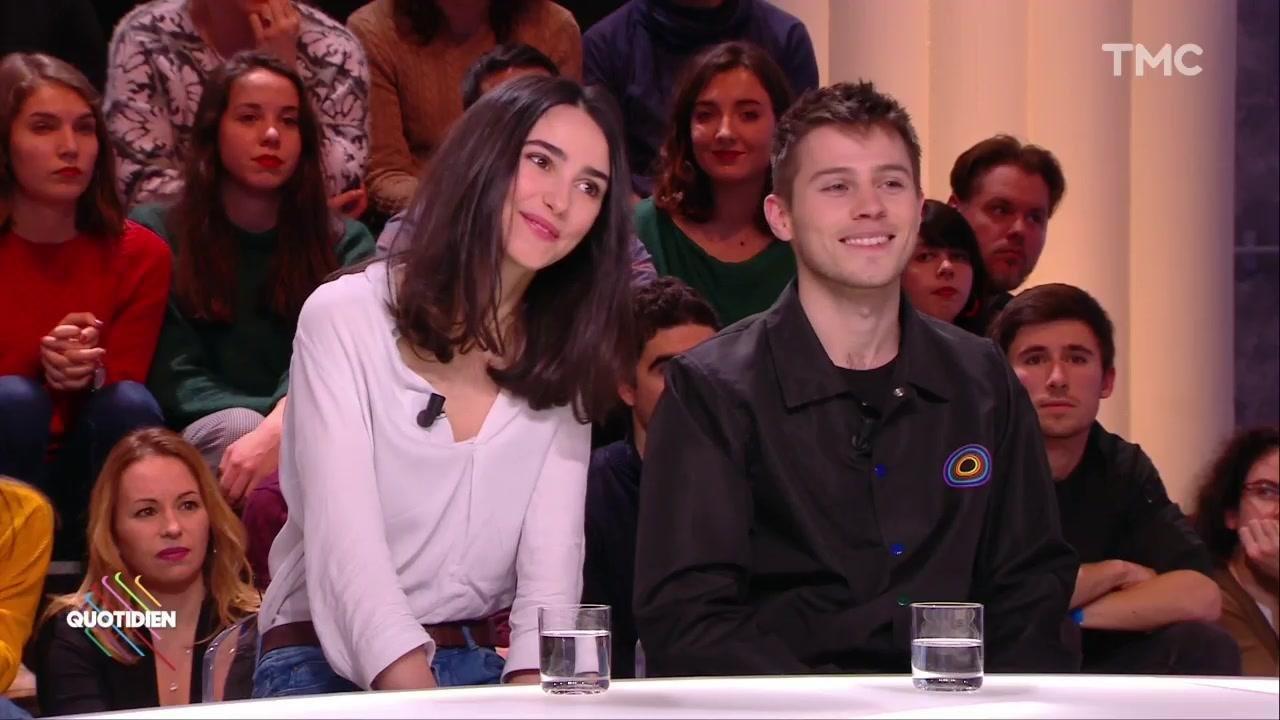 Invités Audran Cattin \\u0026 Louna Espinosa pour « Les bracelets rouges » ,  Quotidien avec Yann Barthès