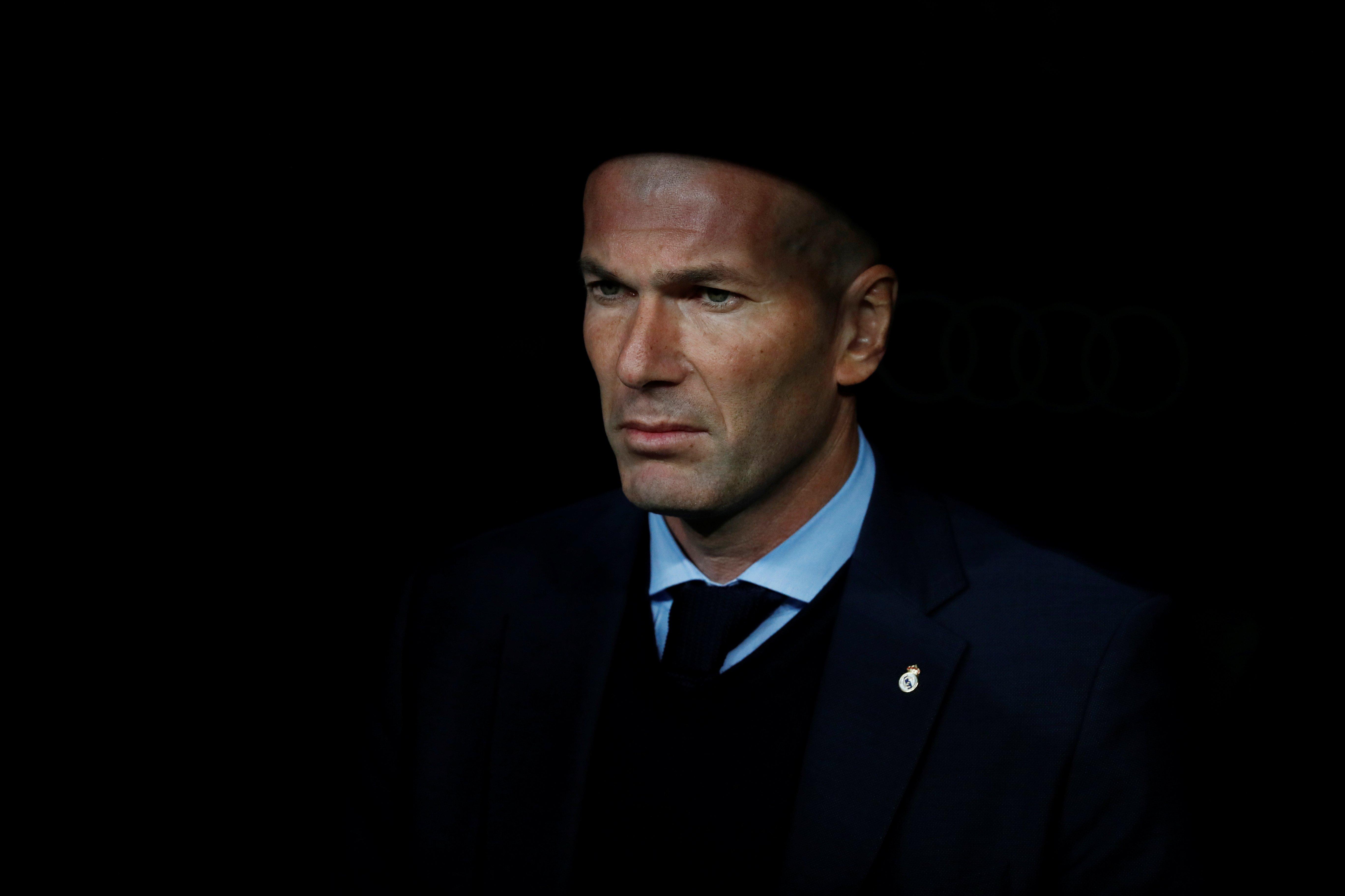 """Liga / Real Madrid - Zidane : """"Nous ne sommes pas anxieux avant le match face au PSG"""""""