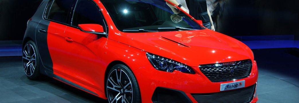 Salon De Francfort 2013 Peugeot 308 R Le Concept Joue Au Golf