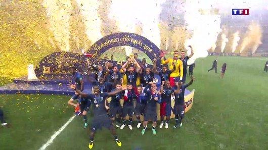 Voir le replay de l'émission Coupe du Monde de la FIFA, Russie 2018™ du 16/07/2018 à 22h30 sur TF1