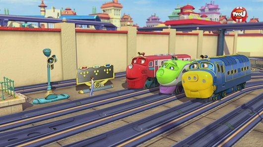 Voir le replay de l'emission Chuggington du 16/06/2018 à 07h30 sur TF1