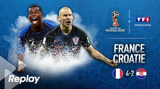 Voir le replay de l'émission Coupe du Monde de la FIFA, Russie 2018™ du 15/07/2018 à 20h30 sur TF1