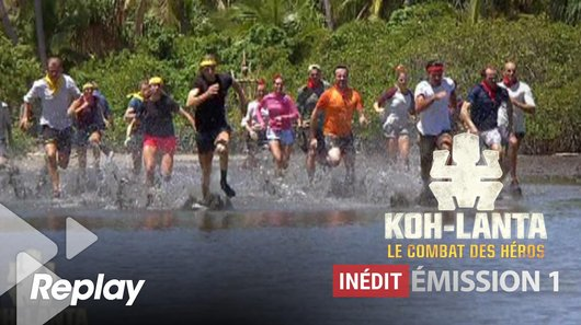 Voir le replay de l'emission Koh-Lanta du 17/03/2018 à 01h30 sur TF1