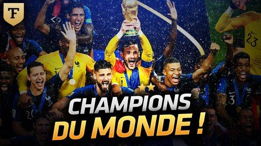 Voir le replay de l'émission Coupe du Monde de la FIFA, Russie 2018™ du 16/07/2018 à 00h30 sur TF1