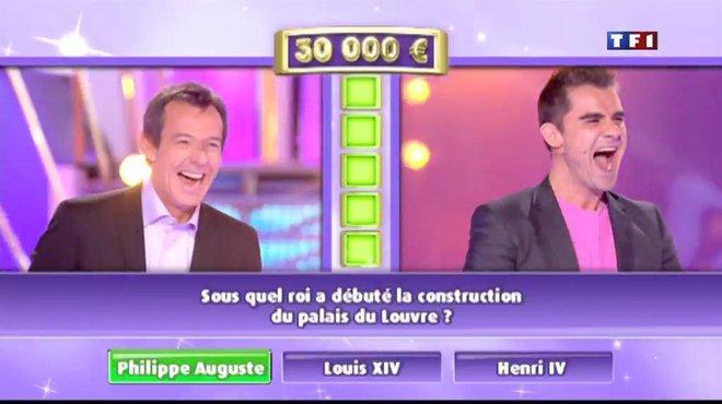 Les 12 coups de midi : Record battu : Alexandre dépasse la barre des 200 000 euros ! TF1
